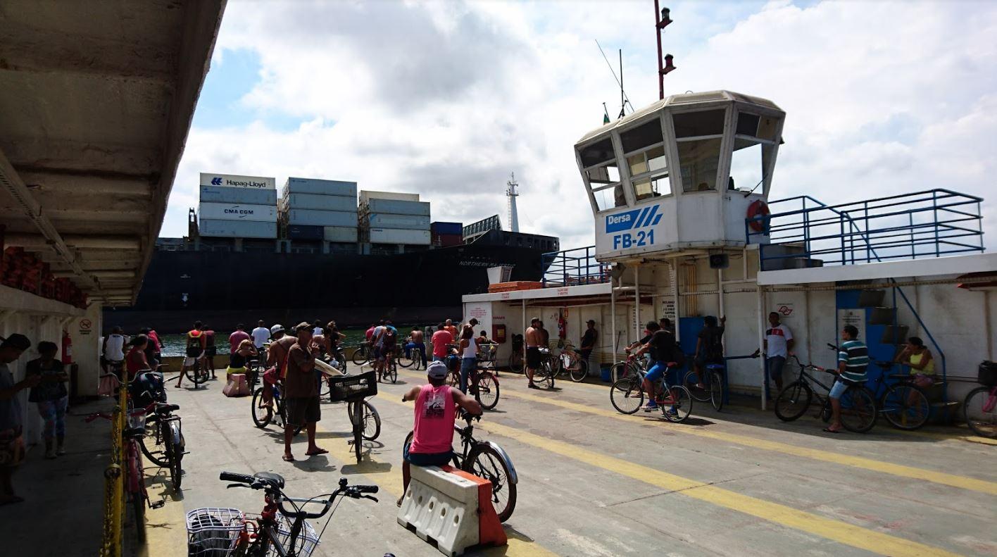 Bicicleta é um meio de transporte importante no Guarujá