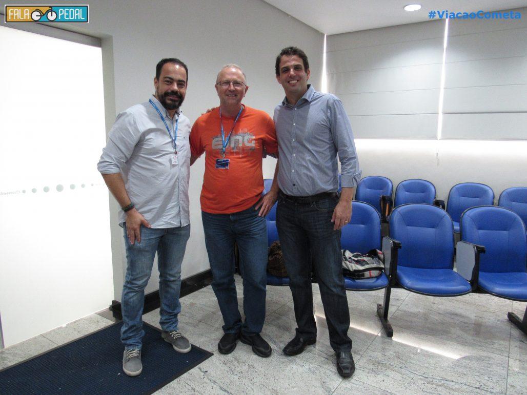 Rodrigo Trevizan Diretor de Marketing e o Presidente do grupo JCA Gustavo Rodrigues.