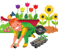 Quem é de Deus é jardineiro