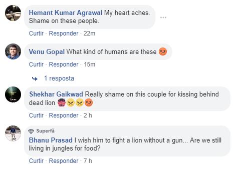 leão morto comentarios