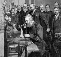 Dom Pedro II and Alexander Graham Bell